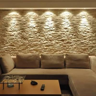 Lámparas  de decoración  en estancia