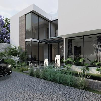 Casa Black-white