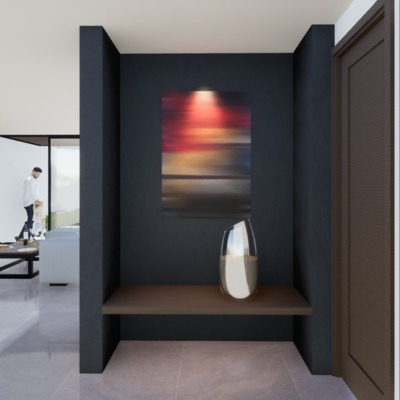 Casa Santiago - studio 11.  Ingreso