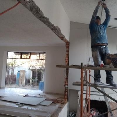 Remodelación de sala de estar