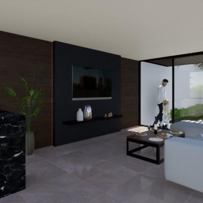 Casa Santiago - studio 11. Estancia