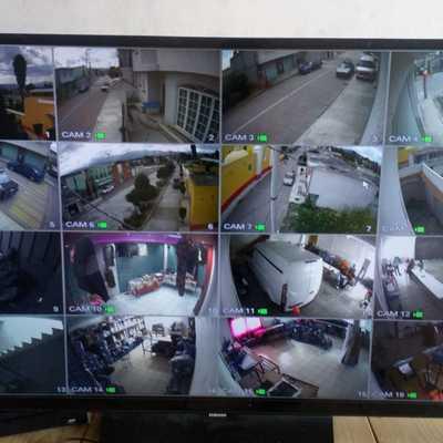 Instalación de 16 cámaras de seguridad