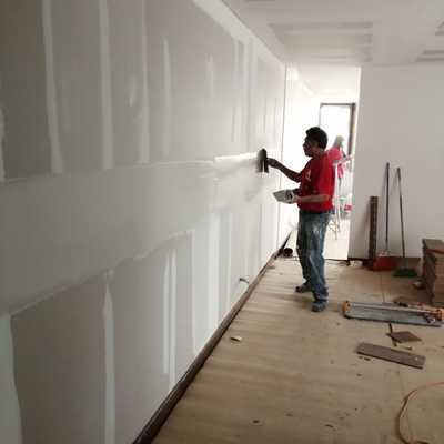 Colocación de Muro de tablaroca.