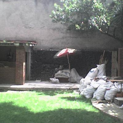 Acondicionando una estancia en jardin