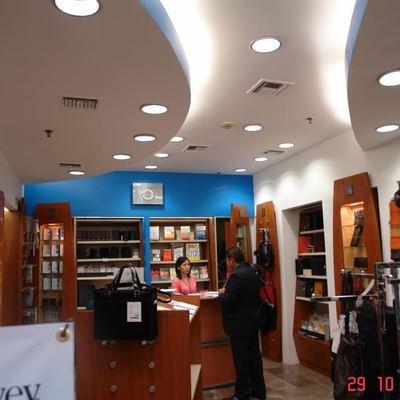 Remodelacion , tienda Franklin Covey WTC , CDMX