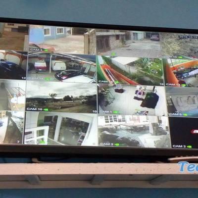 Instalación de 17 cámaras de seguridad