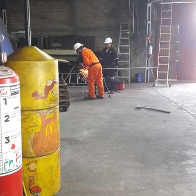 INSTALACION ELECTRICA A BODEGA DE MCDONALD`S