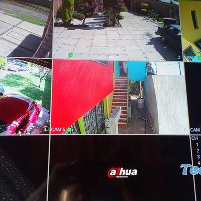 Instalación de 5 cámaras de seguridad