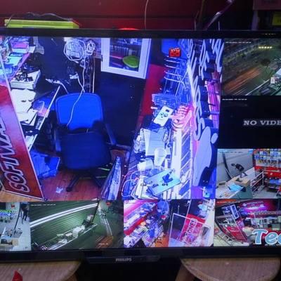 Instalación de 7 cámaras de seguridad