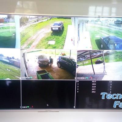 Instalación de 6 cámaras de seguridad