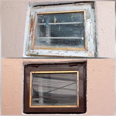 pintira de ventana