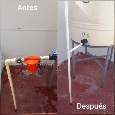 instalacion de filtro para tinaco