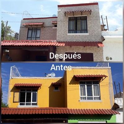 azulejo en fachada