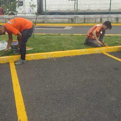 Pintura Estacionamiento