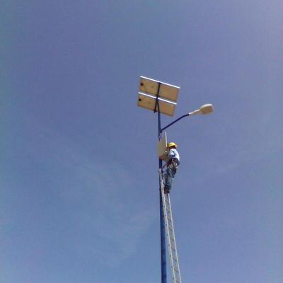 mantenimiento alumbrado público solar