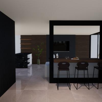 Casa Santiago - studio 11. Cocina