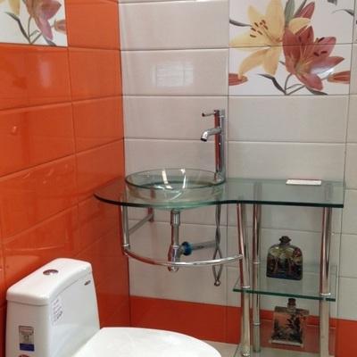 Recubrimientos de baños en Casa-Habitación