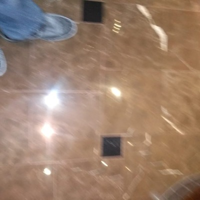 Pulido de piso (Antes)
