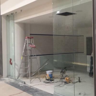 Instalación del cancel templado