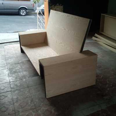 Cama y Sofa
