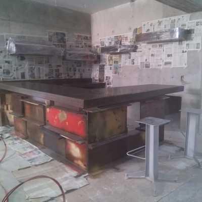 Pitura de cocina industrial