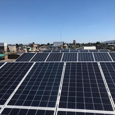 Paneles solares Wolf GYM Guadalajara