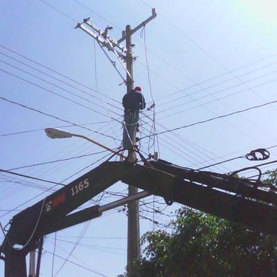 proyecto de extensión de línea de 13 200 volts