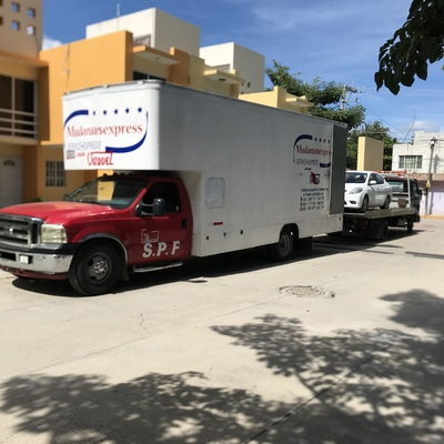 Mudanza y auto de Tuxtla Gutiérrez a Tijuana