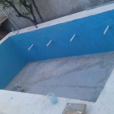 Construcción de Alberca en Cancún