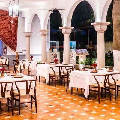 Restaurante Valentina en hacienda Santa Cruz