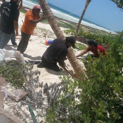 Construcción de residencia en Cancun México