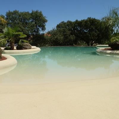 Acabados de piedra natural pool plaster