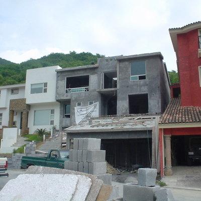 Construcción de Residencia en Valle Alto , Monterrey ,N.L.