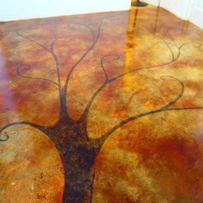 piso oxidado