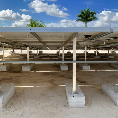 Instalación de 18 paneles solares