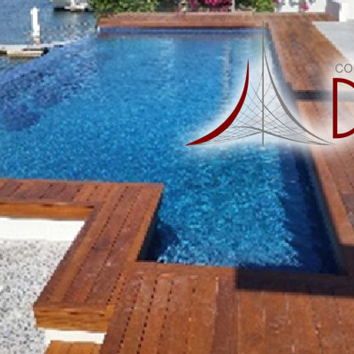 Infinity pool con deck