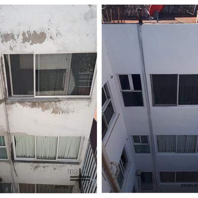 Mantenimiento de fachada.