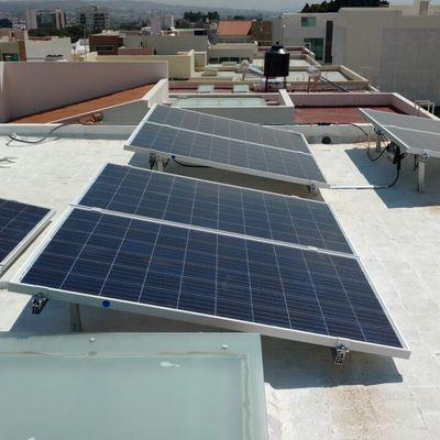 Sistema fotovoltaico de 8 paneles 2kw