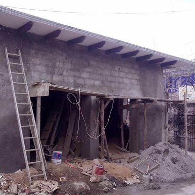 Aplanado en muros de adobe