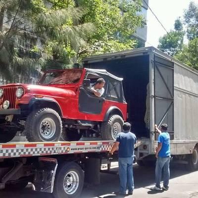 transporte de su auto sin rodar
