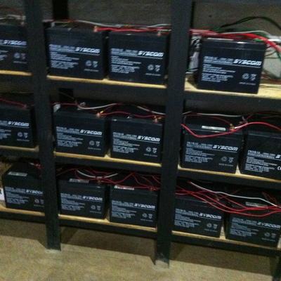 Banco de baterías para un respaldo de 72 horas- 5 Kwp - Tlálpan, D.F.