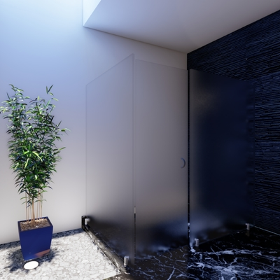 Diseño de baño contemporáneo