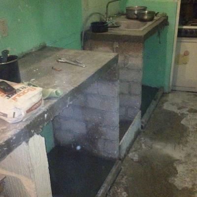 Remodelaciones estrada tec mac for Como hacer una barra de cocina