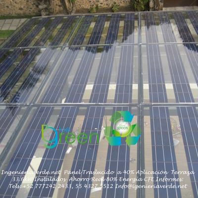 Techo Solar Aplicacion Arquitectonica