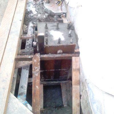 zapata colada en fracc Burgos