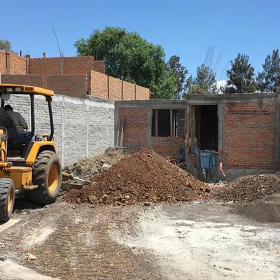 Excavación de muro perimetral