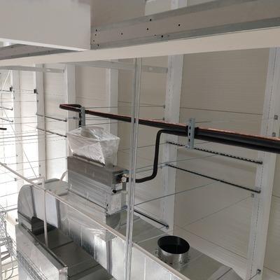Instalación de aire acondicionado en nave industria