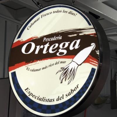 Caja de luz Pescaderia Ortega (Central de abastos DF)