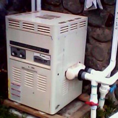 caldera de gas para albercas & jacizzi