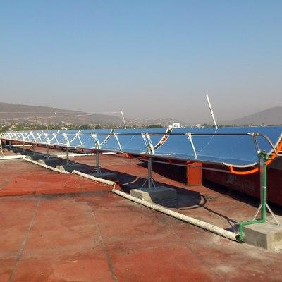 Calefaccion solar para hotel